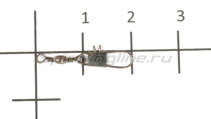 Вертлюг с карабином Cottus Interlock №22 -  1
