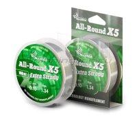 Леска Allvega All-Round X5 100м 0,12мм