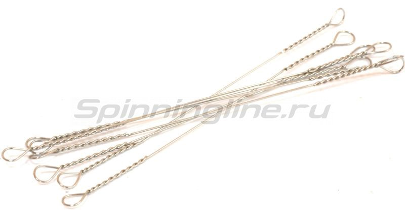 """Поводок струна """"Spinningline"""" 10см 0,28мм 8кг -  2"""