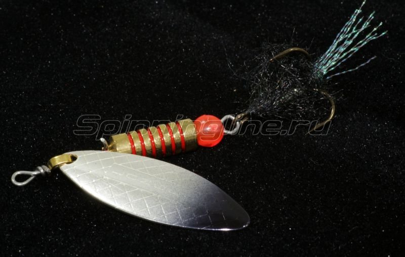 Mosca - Блесна Mosquito №3 silver/black - фотография 1