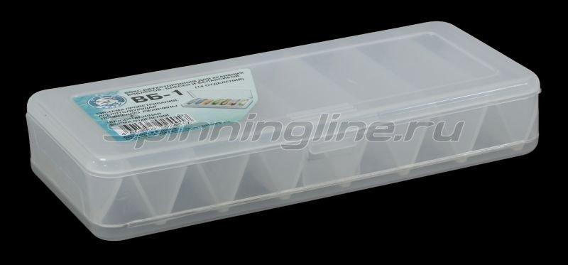 Коробка Три Кита для воблеров и балансиров ВБ-1 - фотография 1