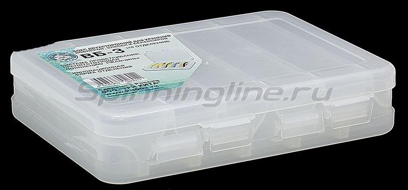 Коробка Три Кита для воблеров и балансиров ВБ-3 - фотография 1