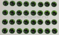 Глазки 3D Eyes 3мм green
