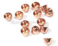 Головки Brass ConeHeads 6,0мм copper