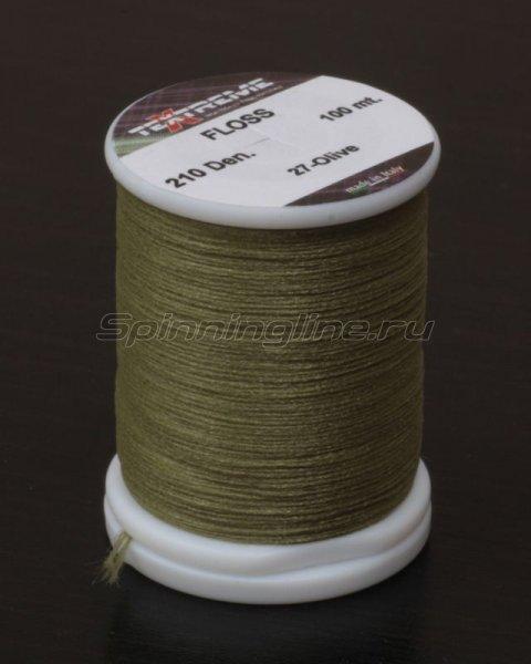 Textreme - Нить Floss olive - фотография 1