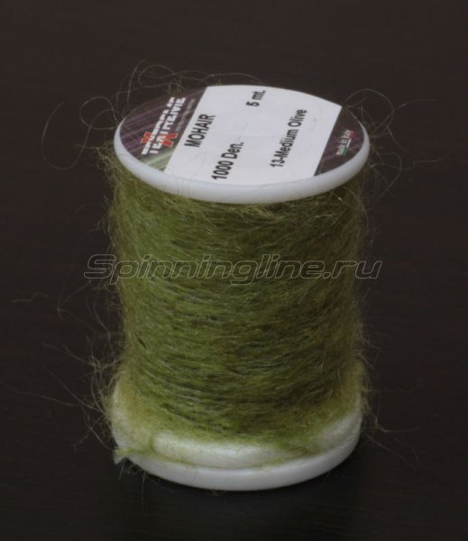 Нить Mohair medium olive -  1