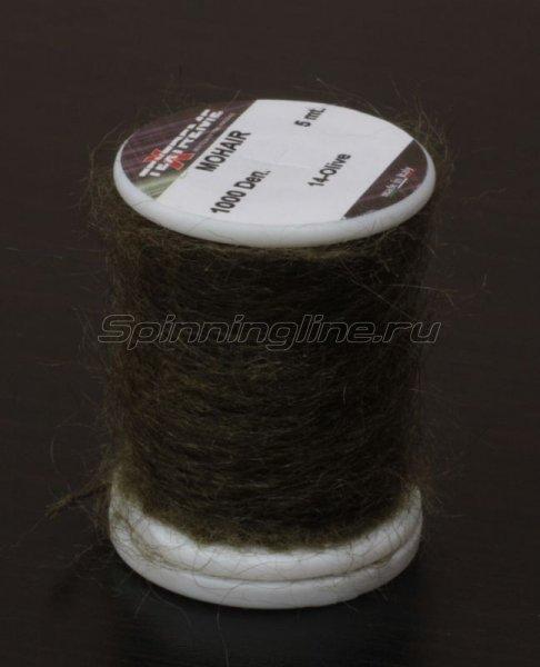 Нить Mohair olive -  1