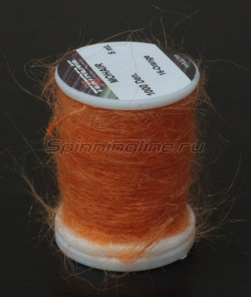 Нить Mohair orange -  1