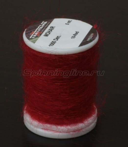 Нить Mohair red -  1
