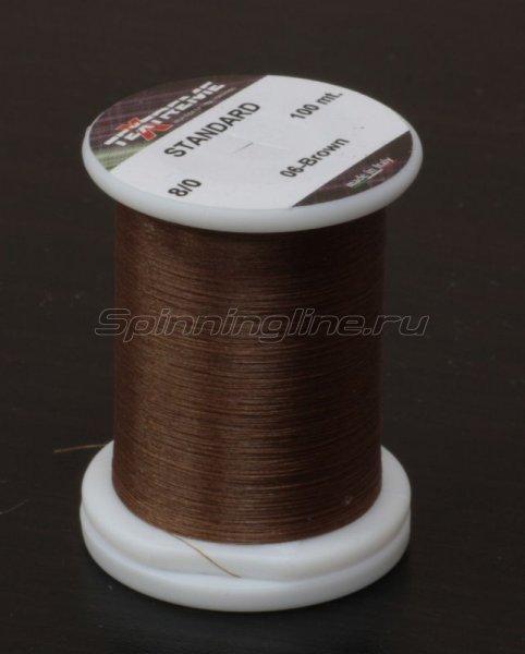 Нить Standart 8/0 brown -  1