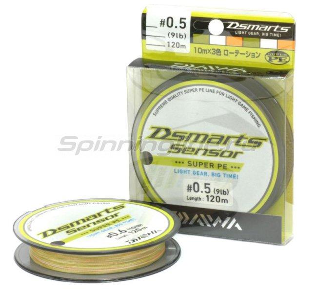Шнур D-Smarts 120м 0.6 -  1