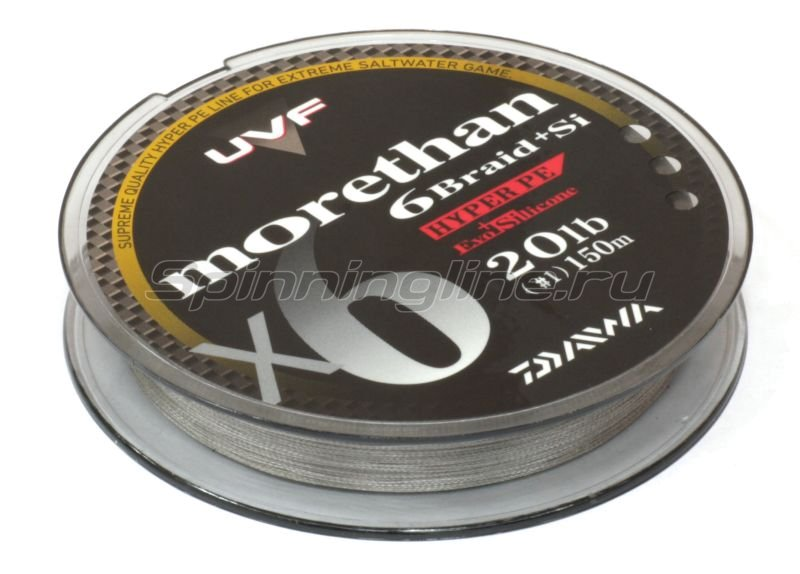 Daiwa - Шнур UVF Morethan 6+Si 150м 0.6 - фотография 2