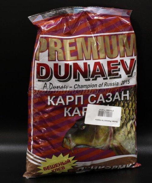 Прикормка Dunaev Premium 1кг Карась - фотография 1