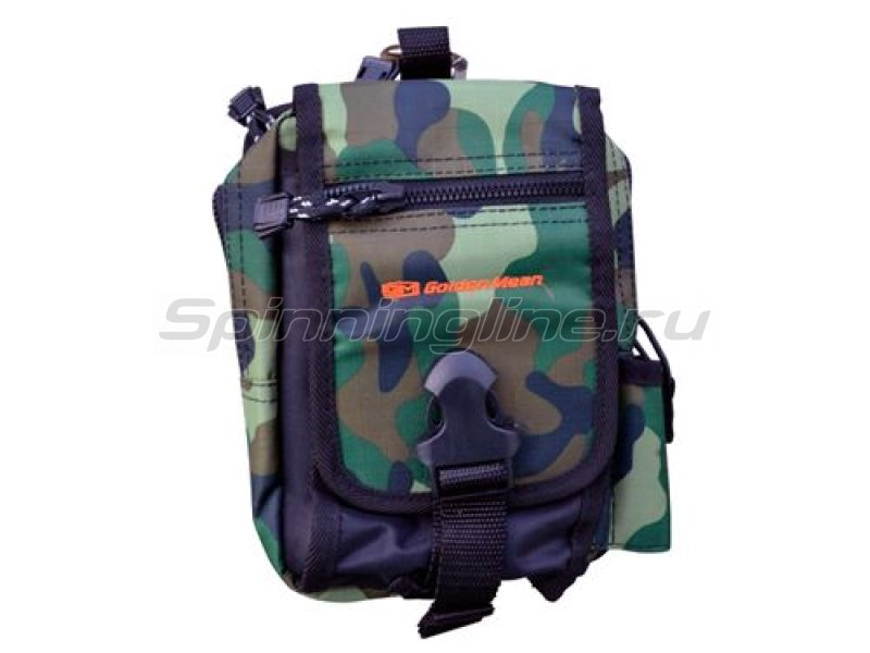 Сумка Field Pouch green camo -  1
