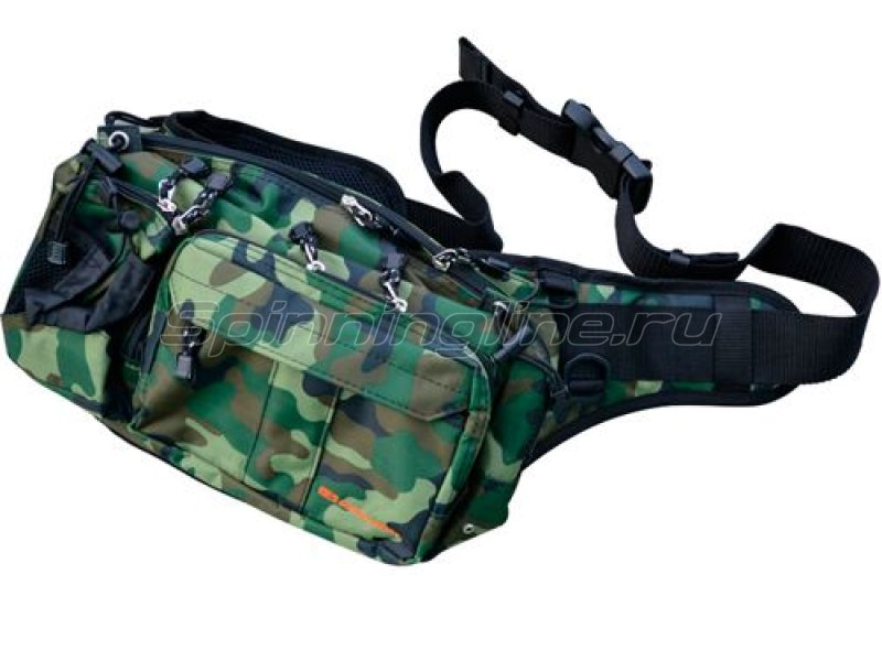 Golden Mean - Сумка Hip Bag green camo - фотография 1