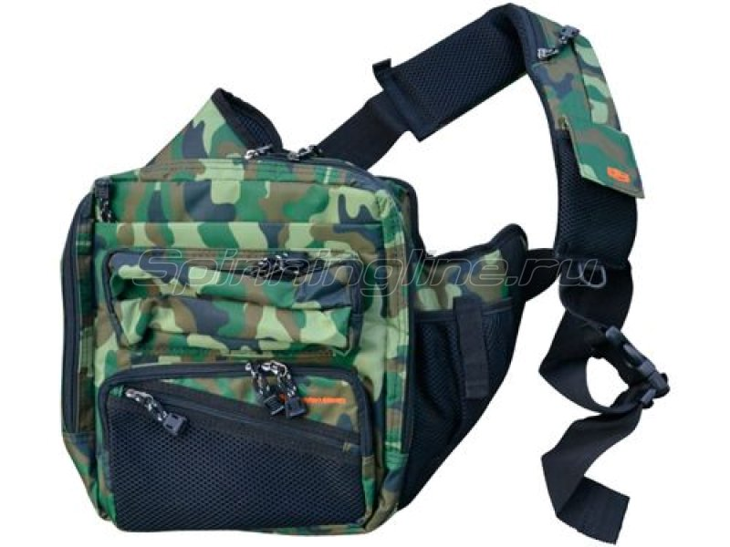 Golden Mean - Сумка Shoulder Bag green camo - фотография 1