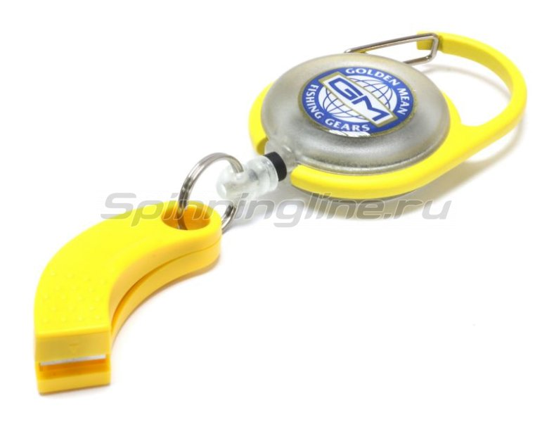 Golden Mean - Ретривер Pin On Reel X Line Cutter yellow - фотография 1