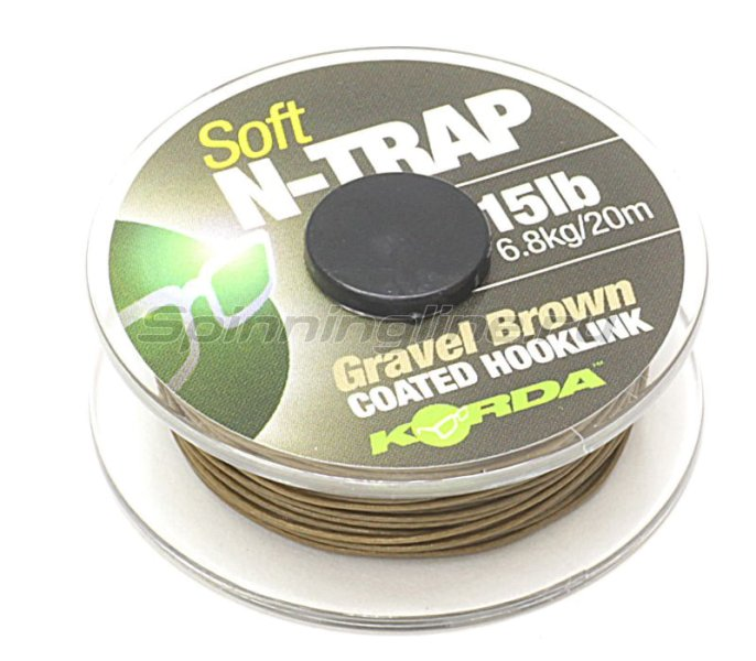 ���������� �������� Korda N Trap Semi 15lb Gravel Brown - ���������� 2