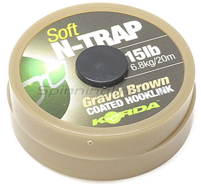 ���������� �������� Korda N Trap Semi 20lb Gravel Brown - ���������� 1