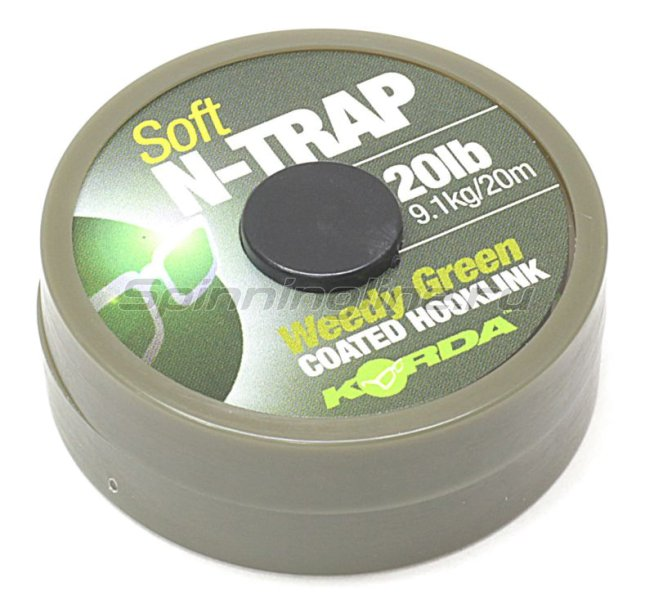 ���������� �������� Korda N Trap Semi 20lb Weedy Green - ���������� 1