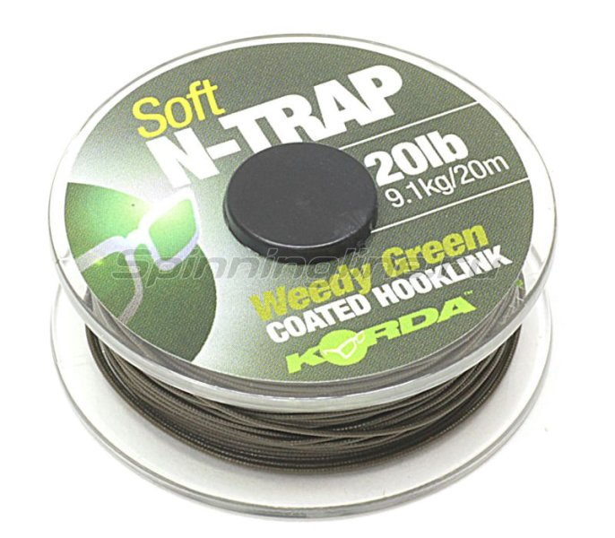 ���������� �������� Korda N Trap Semi 20lb Weedy Green - ���������� 2
