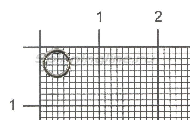 Кольца заводные профилированные усиленные 5мм Bz -  1