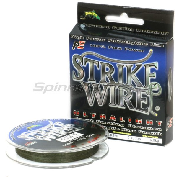STRIKE PRO - Шнур Wire Ultralight 150м 0,10мм - фотография 1