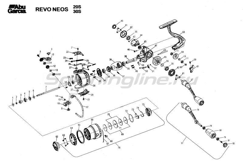 Abu Garcia - Катушка Revo Neos 30S - фотография 3