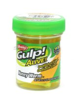 Приманка Gulp Alive Honey Worms fluo yellow
