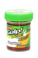Приманка Gulp Alive Honey Worms red