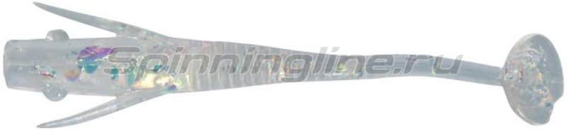 Berkley - Приманка Powerbait Original Shrug Minnow 40 clear hologram - фотография 1