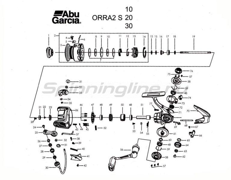 Катушка Orra S 10 -  5