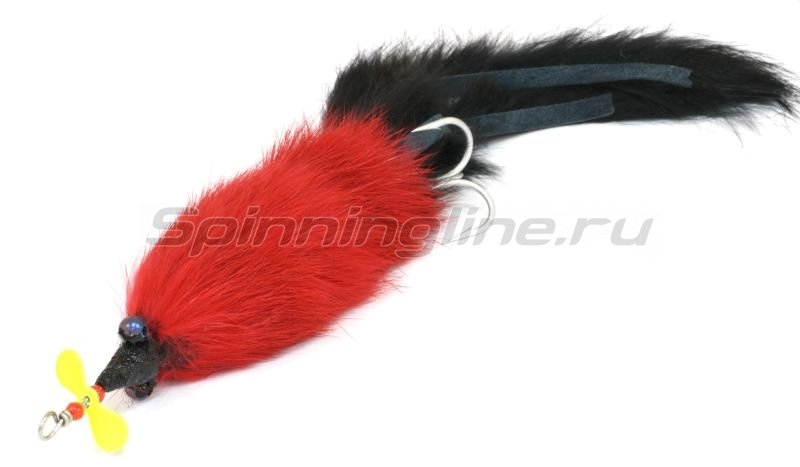 Abu Garcia - Hairy Killer 21G (21гр.) RED BLACK TAIL - фотография 1