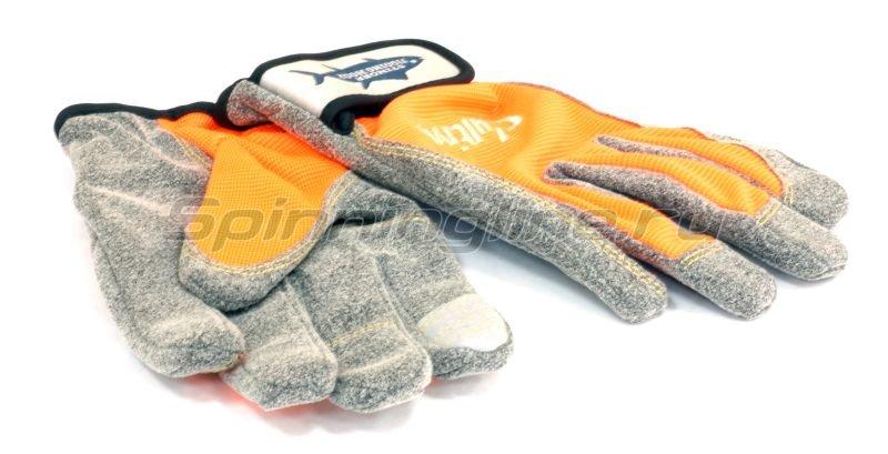 Owner - Перчатки Jigging Glove L оранжевый - фотография 1