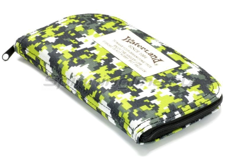 Waterland - Чехол для блесен W.L. Spoon Wallet XL 13х22см green - фотография 1