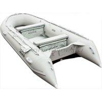 Лодка ПВХ HDX Oxygen 430 AL серая