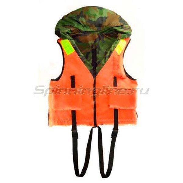 Спасательный жилет HDX Рыбак-2 L двухсторонний - фотография 2