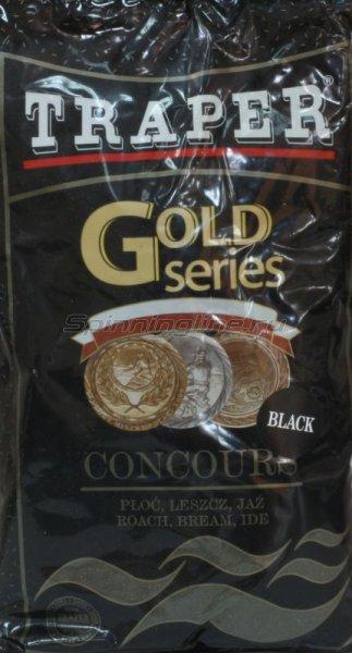 Прикормка Traper Gold Concours Black 1кг - фотография 1
