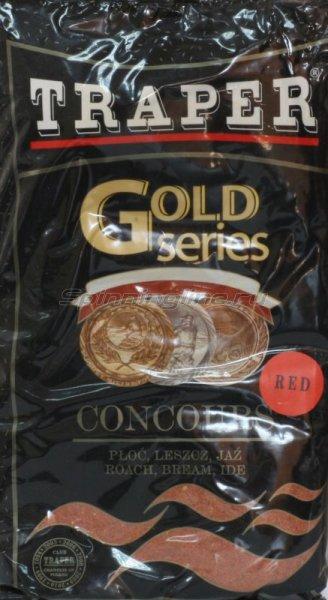 Прикормка Traper Gold Concours Red 1кг - фотография 1