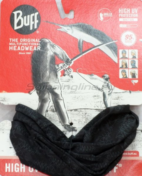 Бандана Buff Angler High UV Protection fishbone - фотография 1