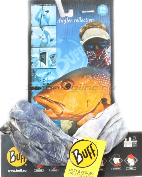 Бандана Buff Angler High UV Protection tarpon - фотография 1