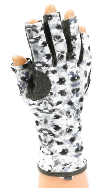 Перчатки Buff Angler Gloves Fish Camo S-M - фотография 1