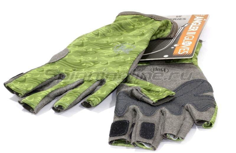 Перчатки Buff Angler Gloves Skoolin Sage L-XL -  1
