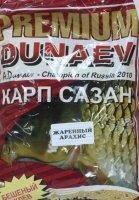 Прикормка Dunaev Premium 1кг Карп-Сазан Жареный арахис