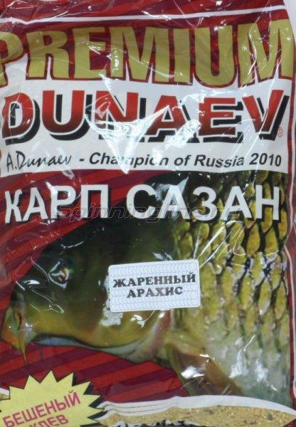 Прикормка Dunaev Premium 1кг Карп-Сазан Жареный арахис - фотография 1