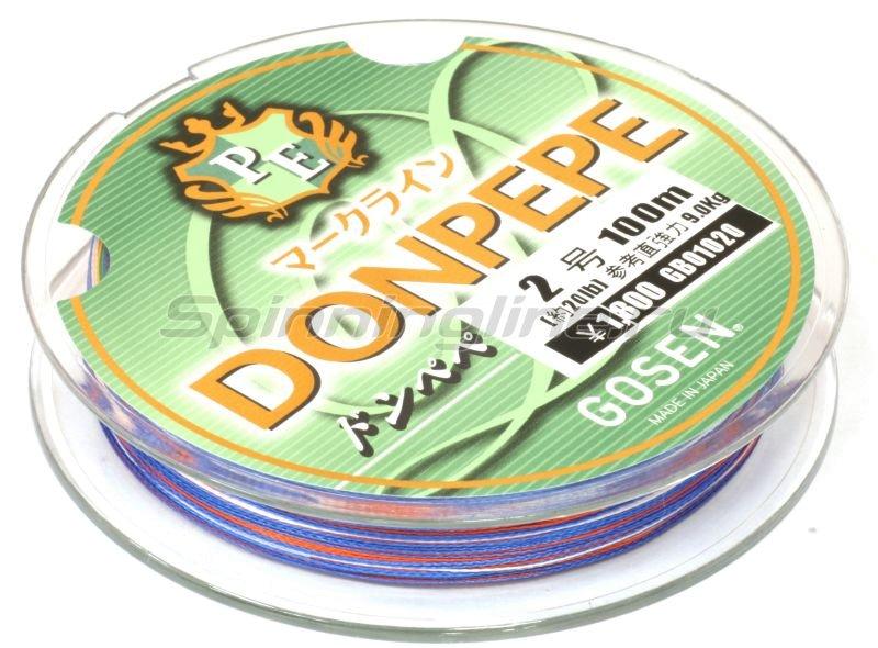 Шнур Donpepe Markline PE 100м 1 -  2