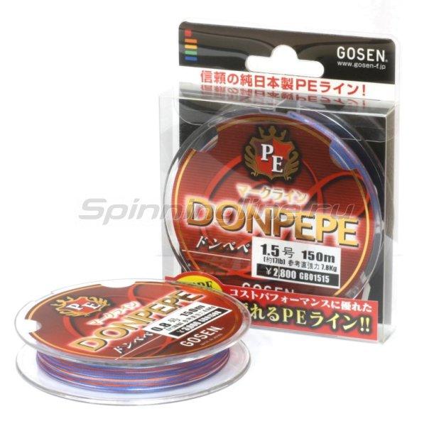 Gosen - Шнур Donpepe Markline PE 150м 0.4 - фотография 1