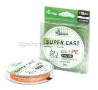 Шнур Super Cast x8 Multicolor 150м 0,128мм