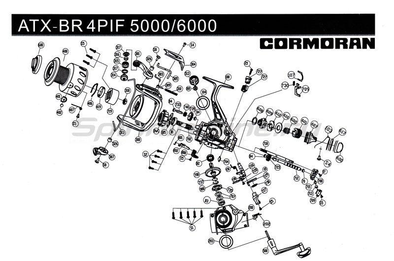 Катушка ATX BR 4PiF 6000 -  3