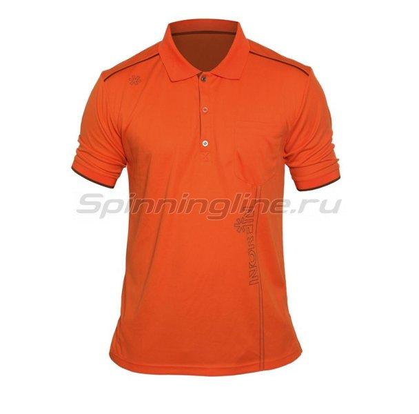 Футболка поло Norfin Orange р.XL -  1